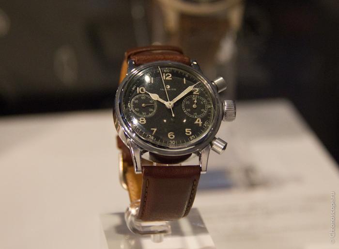 Оригинальные часы для немецких пилотов UROFA с 30-минутным хронографом