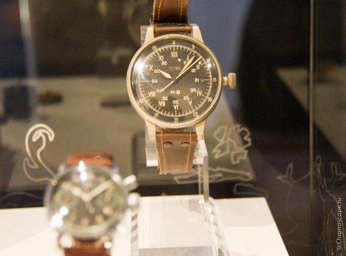 Часы A. Lange & Söhne со специальным циферблатом по заказу SS, 1943 год