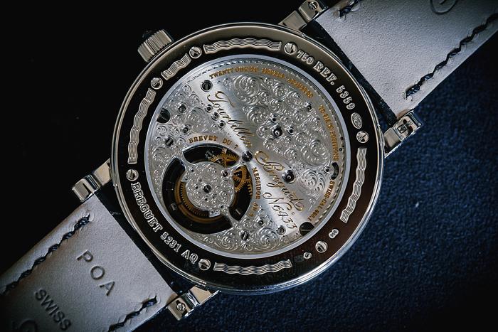 Breguet Classique Grande Complication Tourbillon Full Diamonds Back 5359BB