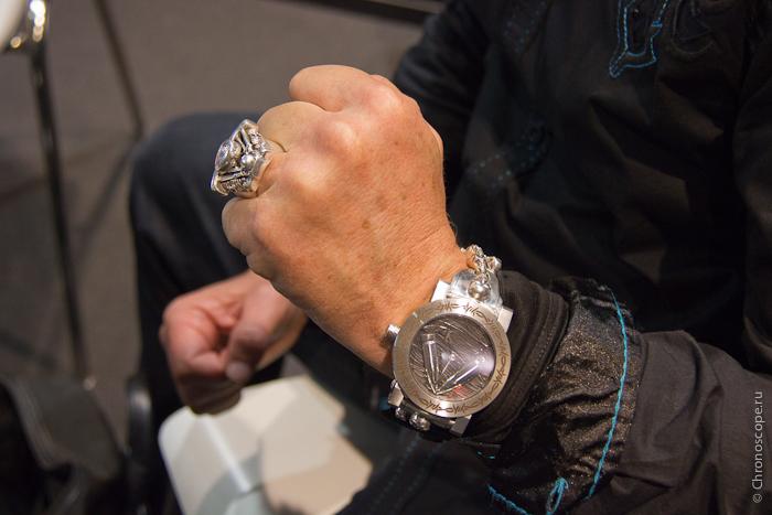 Yvan Arpa ArtyA Skull Bracelet and Ring