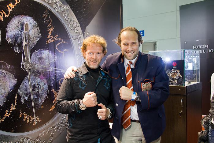 Yvan Arpa ArtyA and Jacques von Polier Raketa