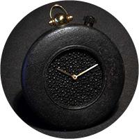 Angular Momentum Iron Pocket Watch