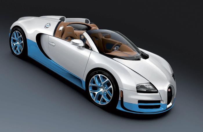 Суперкар  Bugatti Vitesse