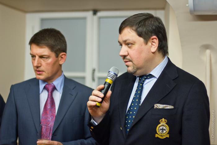 Павел Баранник и Владимир Грачев (Московский Часовой Центр)