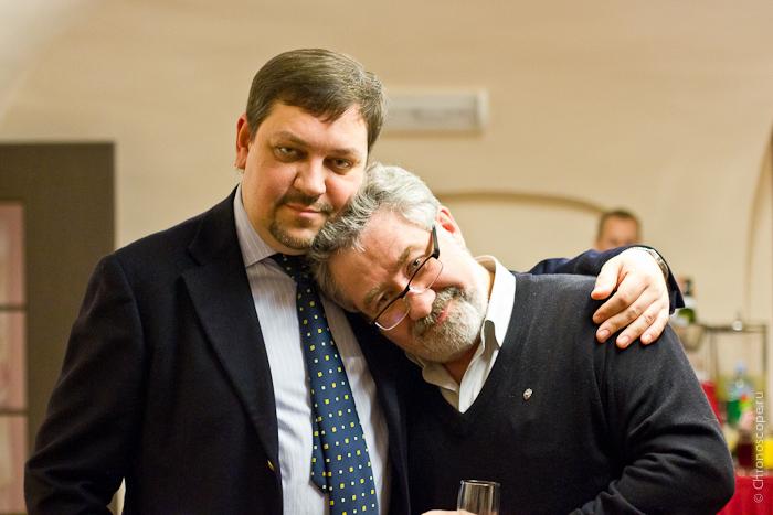 Владимир Грачев и Виктор Латанский (Московский Часовой Центр)