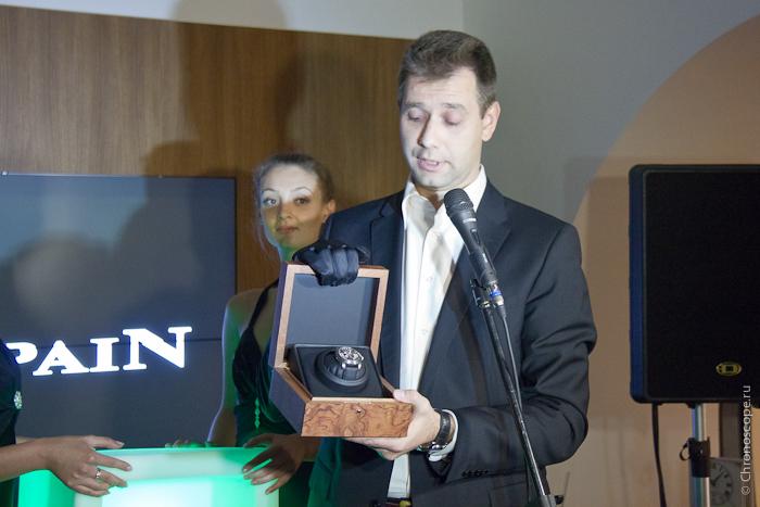 Blancpain L-Evolution премьера в Москве