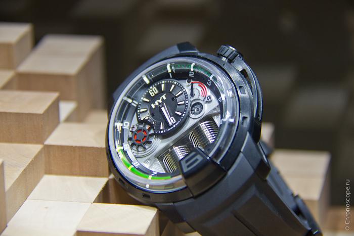 Grand-Prix d Horlogerie de Geneve HYT H1 Black DLC