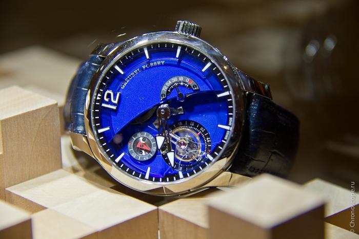 Grand-Prix d Horlogerie de Geneve Greubel Forsey Tourbillon 24 Secondes Contemporain Asymétrique