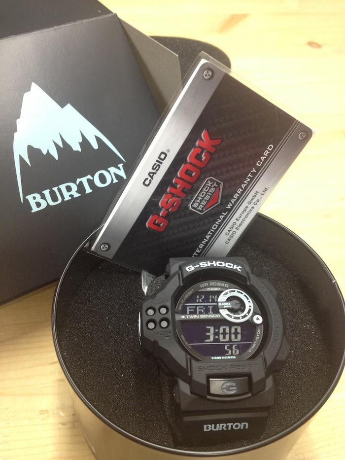 G-SHOCK x Burton в Москве