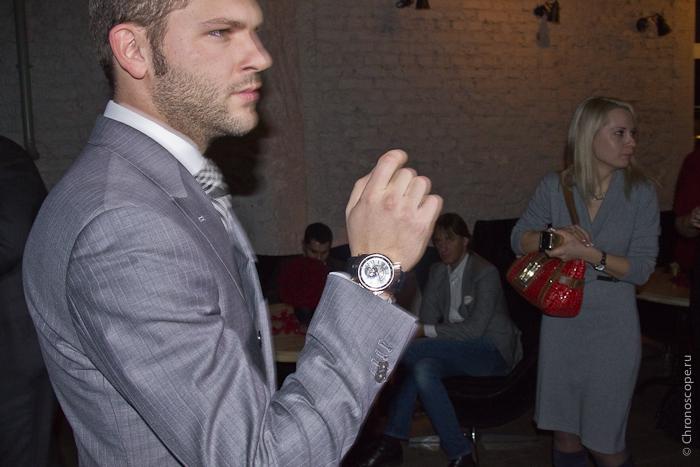Константин Крюков и Roger Dubuis Excalibur Tourbillon