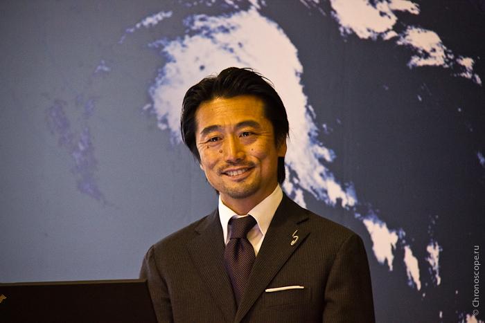 Генеральный директор Сейко РУС Такеши Сакамото