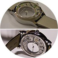 Чьи часы прозрачнее?