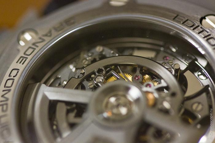 Audemars Piguet Royal Oak Offshore Titanium Grand Complication Back