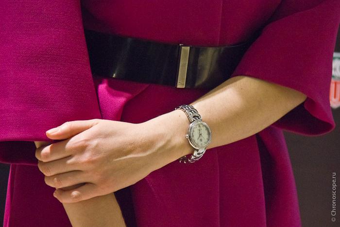 часы Link по дружбе TAG Heuer подарил Юлии