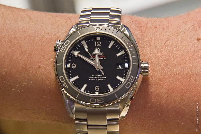 wristshot Omega Seamaster Planet Ocean Sochi 2014