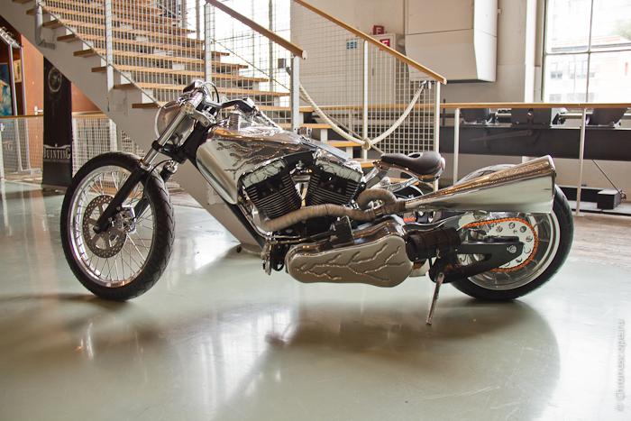 Иван никогда не скрывал своей любви к мотоциклам