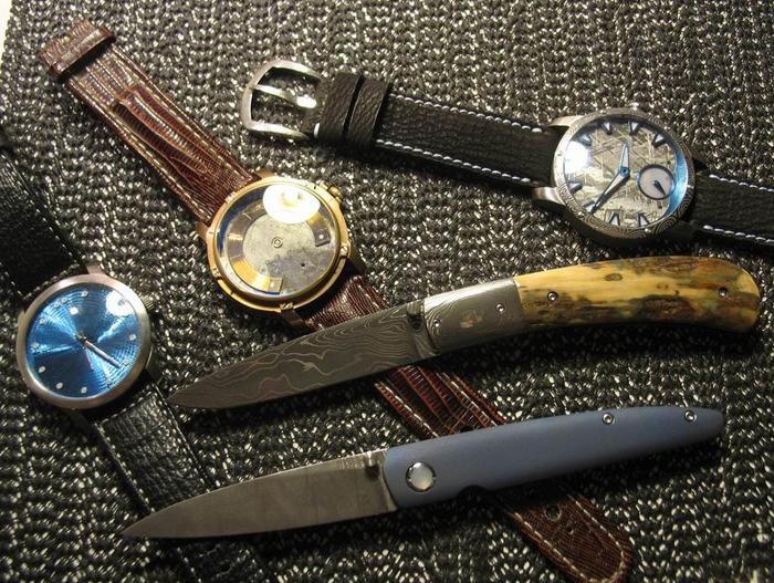 Ножи и часы Berkus