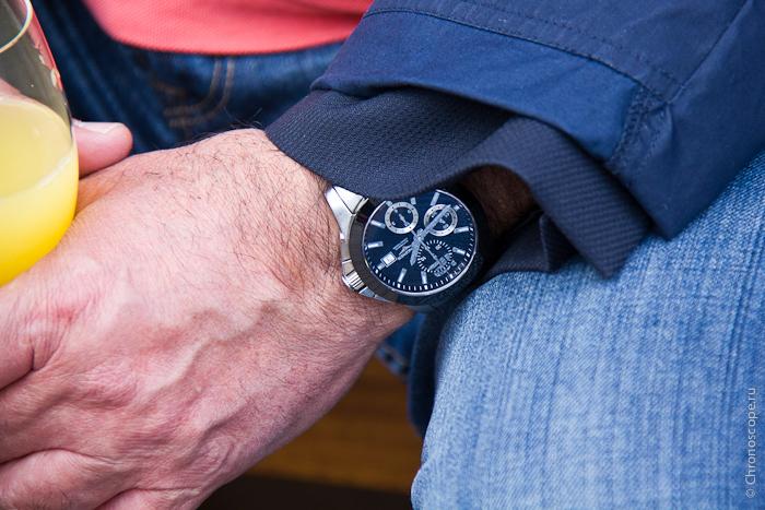 Часы на Ролан Гаррос