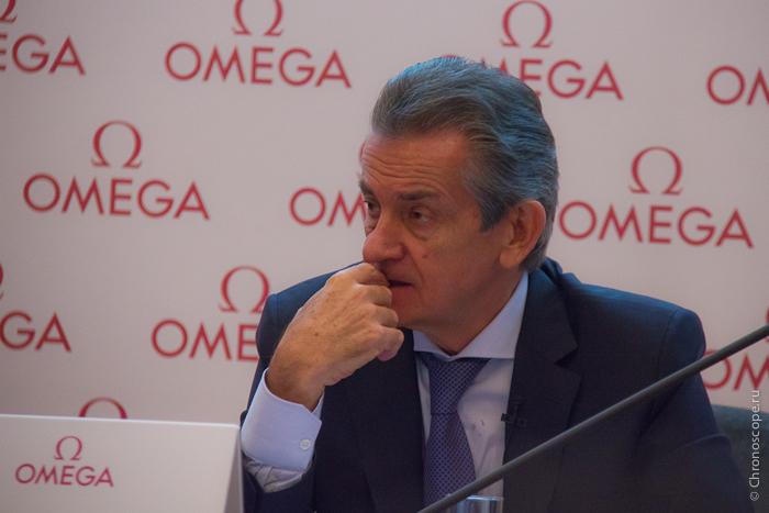 Президент Omega Стивен Уркхарт