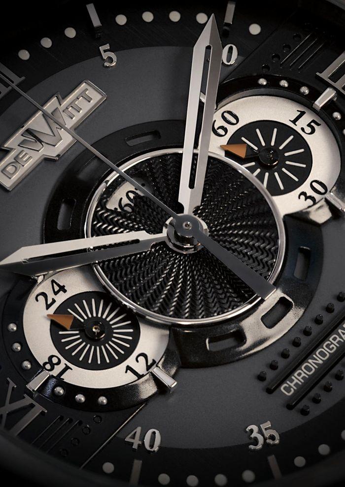DeWitt  Furtive Chronograph Dial