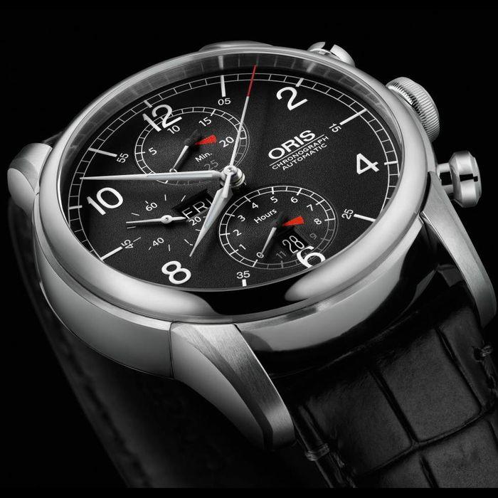 Oris RAID 2013 Chronograph Dial