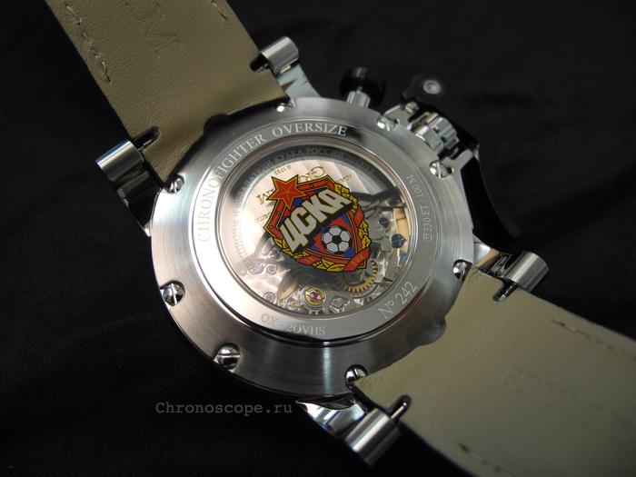 Graham-London Chronofighter GMT ФК ЦСКА
