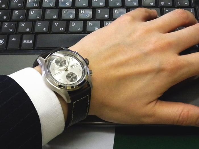 Hamilton Khaki Field Auto Chrono Wrist