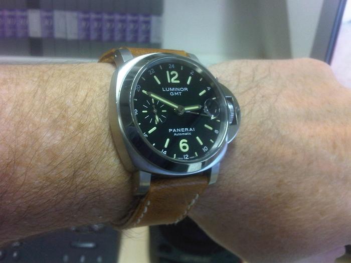 Officine Panerai PAM00244 wrist