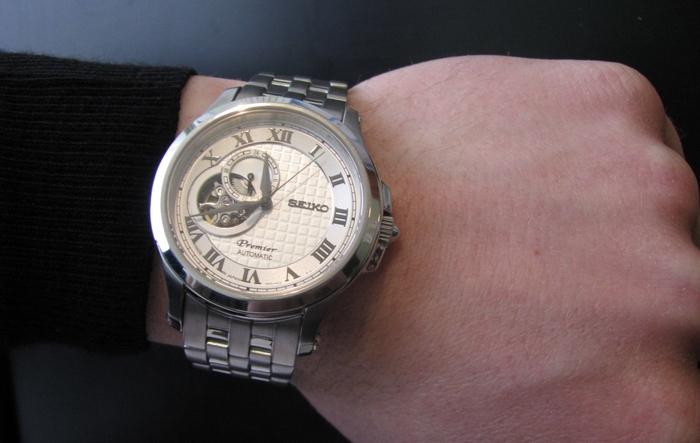 Seiko Premier Automatic 24-hour Hand Wrist