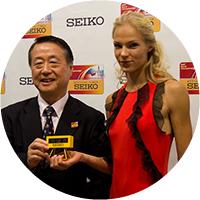 Seiko на IAAF 2013