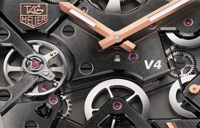Для передачи энергии в механизме V4 используются тонкие как волос приводные ремни
