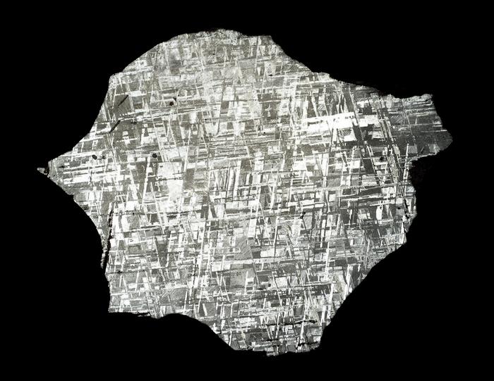 Gibeon Meteorite Slice