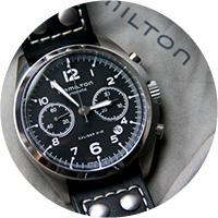 Hamilton Khaki Aviation Pilot Pioneer Auto Chrono