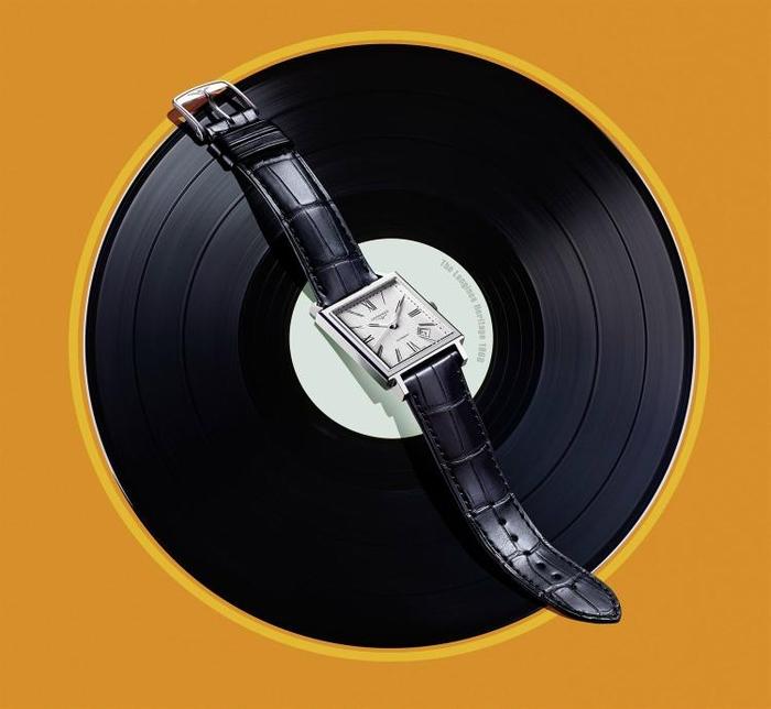 Longines Heritage 1968 Square Vinyl