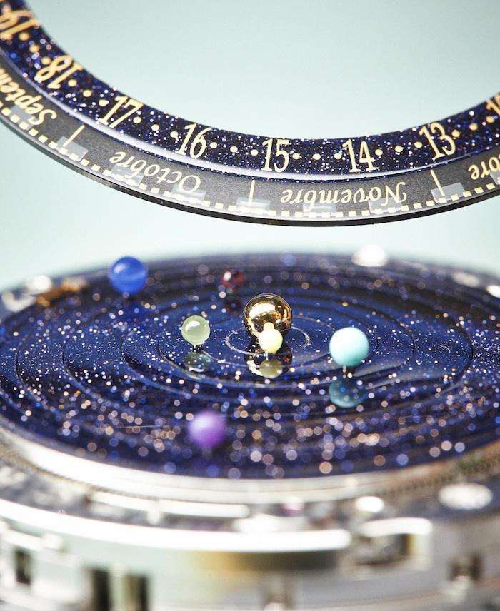 Van Cleef & Arpels Midnight Planetarium Dial