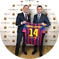 Maurice Lacroix — партнер ФК «Барселона»