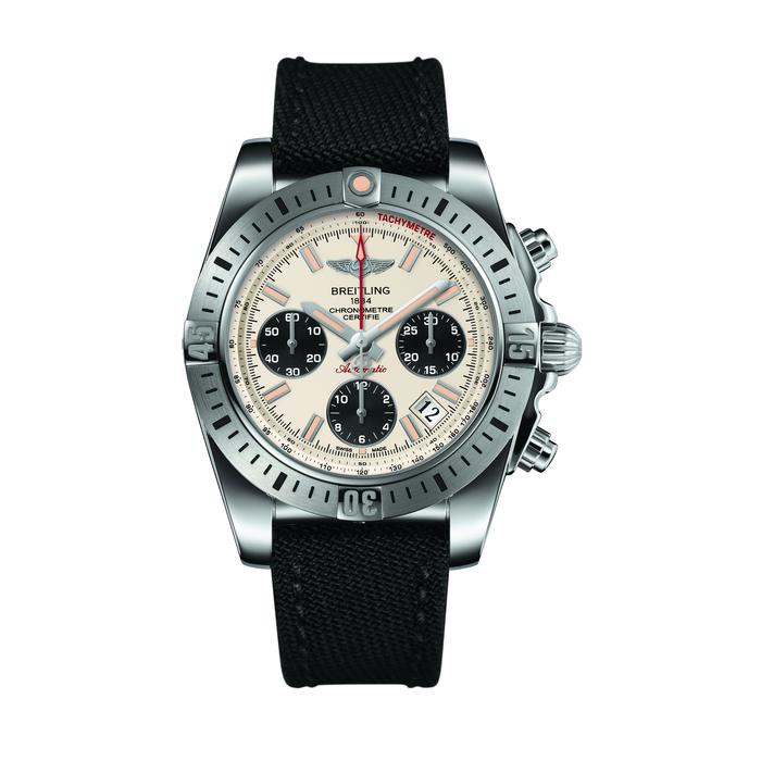 Breitling Chronomat Airborne Silver Dial