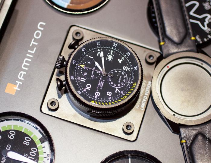 Hamilton Khaki Takeoff Auto Chrono
