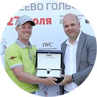 IWC — официальный хронометрист гольф-турнира M2M Russian Open