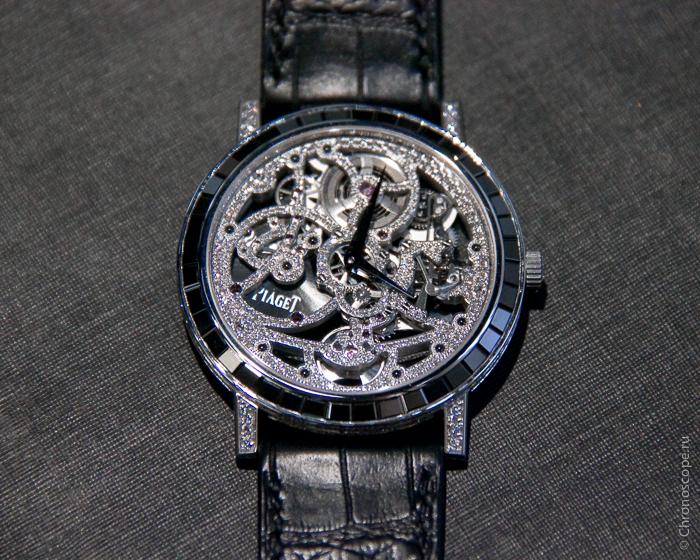Piaget Automatic GemSet Skeleton-9