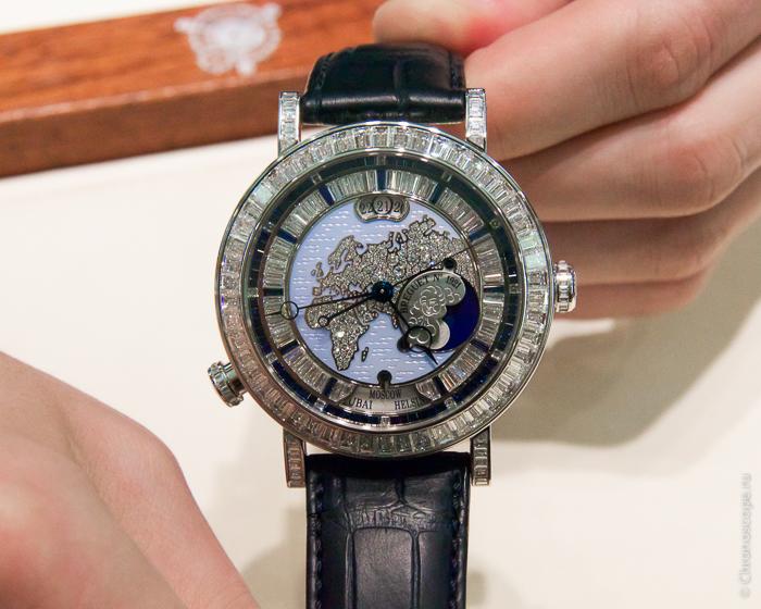 Breguet Classique Hora Mundi High Jewellery