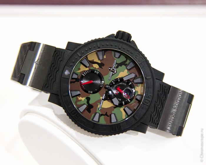 Ulysse Nardin Marine Diver Military Watch_
