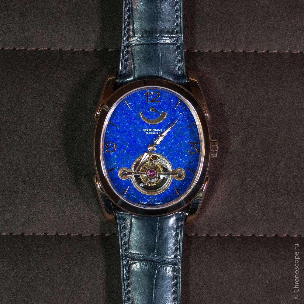 Parmigiani Fleurier Ovale Tourbillon 30 secondes Lapis-Lazuli-3