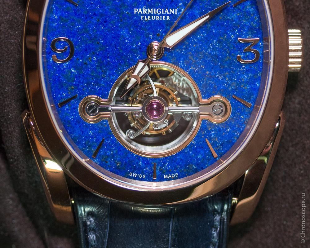 Parmigiani Fleurier Ovale Tourbillon 30 secondes Lapis-Lazuli