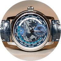 Frederique Constant Manufacture Worldtimer Navy Blue