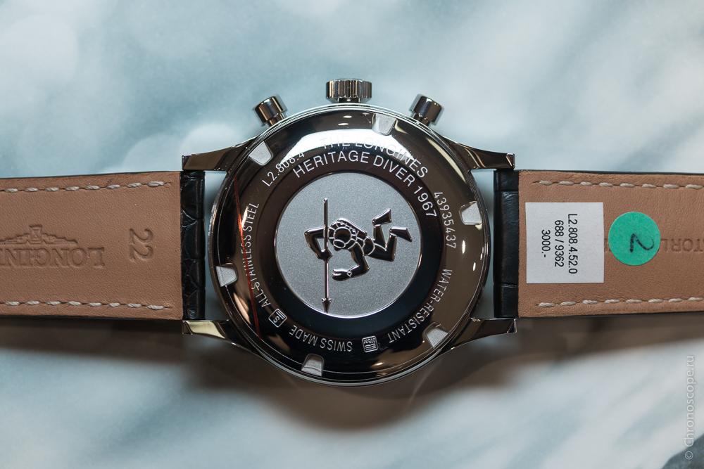 Longines Heritage Diver 1967-4