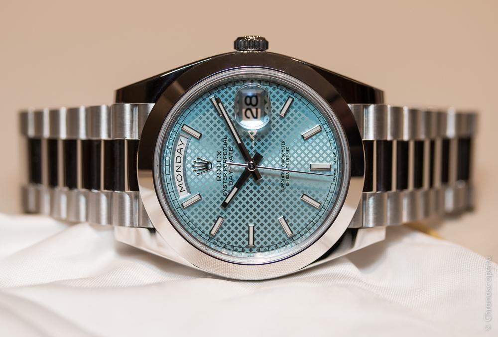 Rolex Day-Date 40 Cal 3255-3