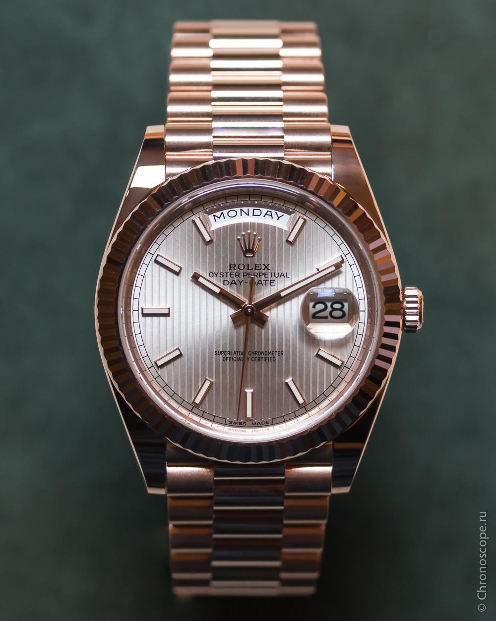 Rolex Day-Date 40 Cal 3255-5
