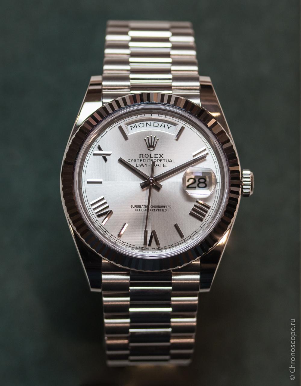 Rolex Day-Date 40 Cal 3255-6