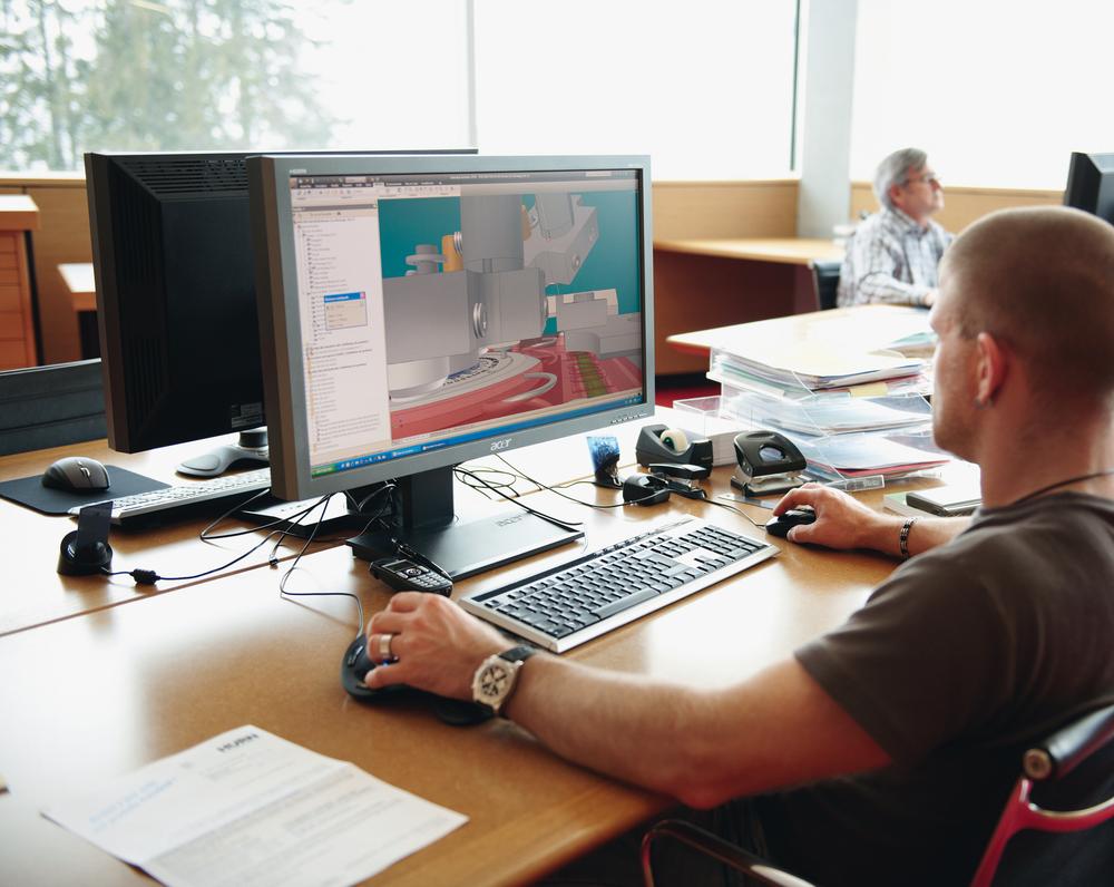 Breitling Chronométrie - Bureau technique